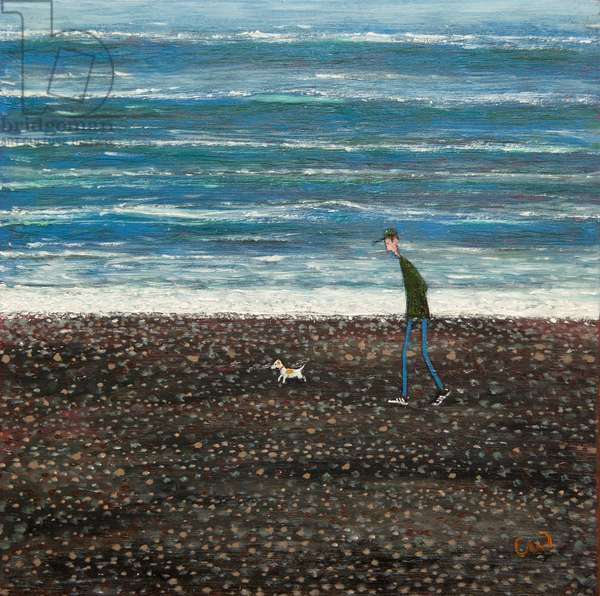 The Surf, 2015, (oil on panel)