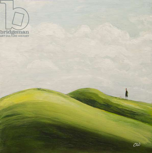 The Other Hills, 2011, (oil on panel)