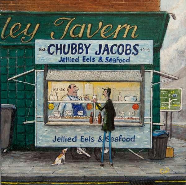 Jellied Eels, 2015, (oil on panel)