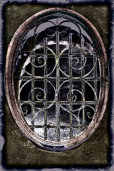 Grated Window, from the series Church of the Holy Sepulchre, 2016 (photograph)