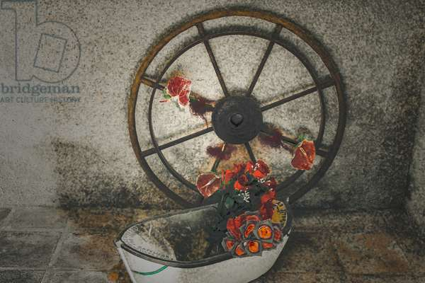 Flowers for the Mariners, from the series, Chapelle du Canal, 2016 (photograph)