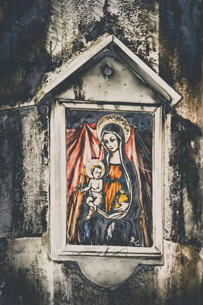 Mother and Child, from the series, Mary and Jesus in Savonna, 2015, (photograph)