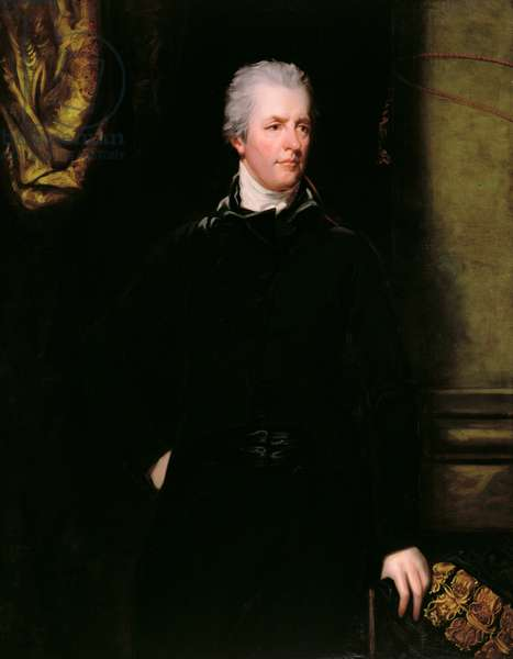 Portrait of William Pitt the Younger (1759-1806) (oil on canvas)