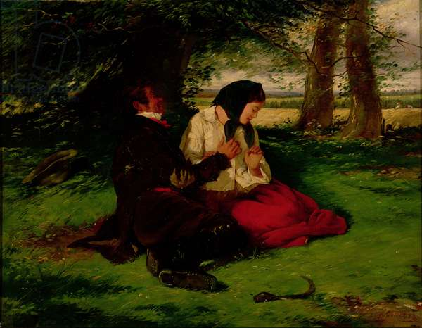 Rejected Addresses, 1853 (oil on canvas)