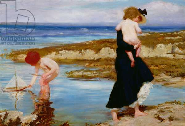 Water Babies, 1903 (oil on canvas)