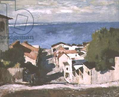 Port Elizabeth, Old Town, 1940 (oil on hard board)