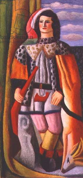Large Standing Figure, 1936 (oil on board)