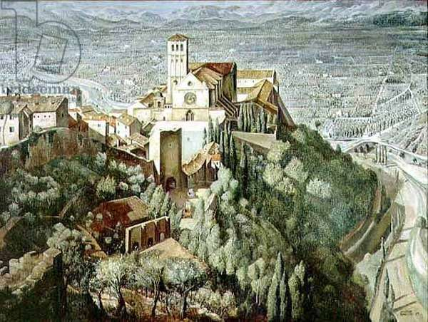 Assisi, 1930-34 (oil on canvas)
