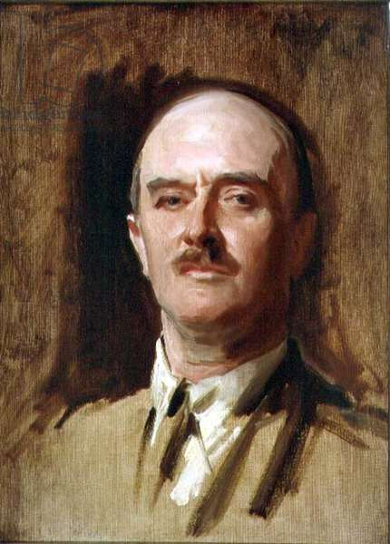 Portrait of Field Marshal Viscount Allenby (1861-1936) (oil on canvas)
