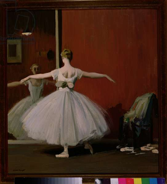 The Ballet Dancer, aka La Premier Danseuse, 1919 (oil on canvas)
