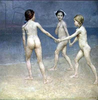 Dawn (oil on canvas)