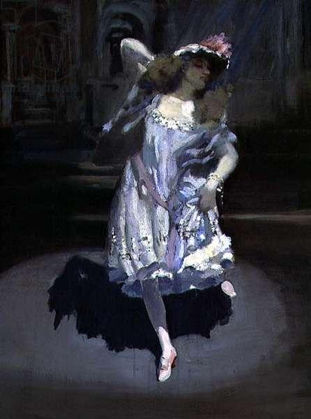 A Star, 1891 (oil on canvas)