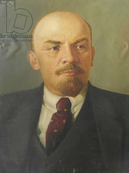 Vladimir Ilych Lenin, 1950s (oil on canvas)