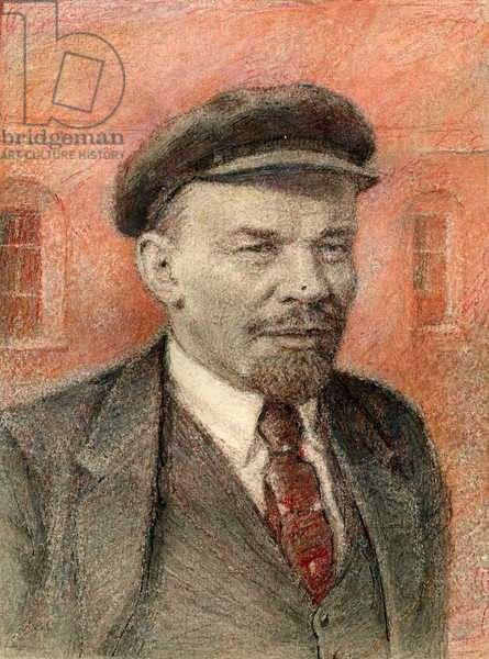 Vladimir Ilych Lenin, 1951 (pastel on paper)