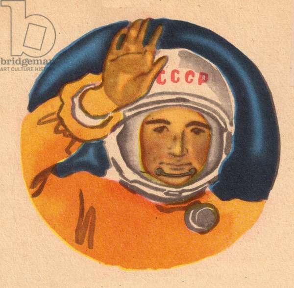 Cosmonaut, 1964 (colour litho)