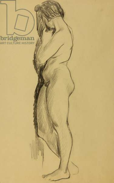Nude, 1971 (pencil on paper)