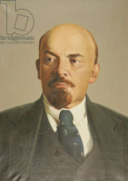 Vladimir Ilych Lenin, 1971 (oil on canvas)