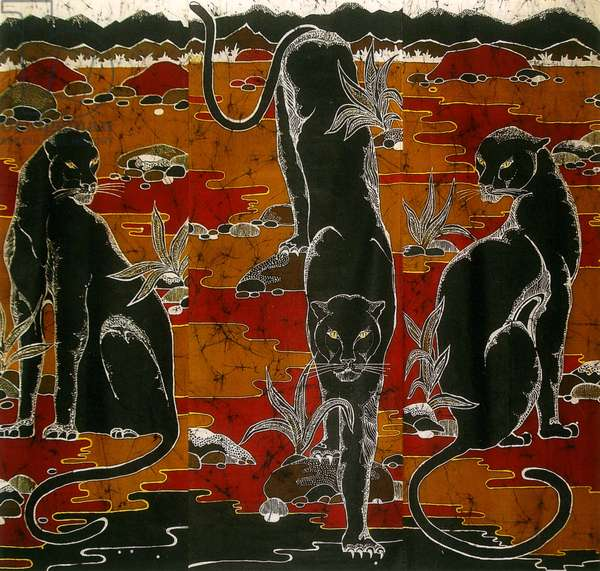 Bagheera, Jungle Book, 2011 (batik)