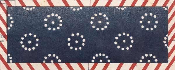 Design for Label, 1900s (colour litho)