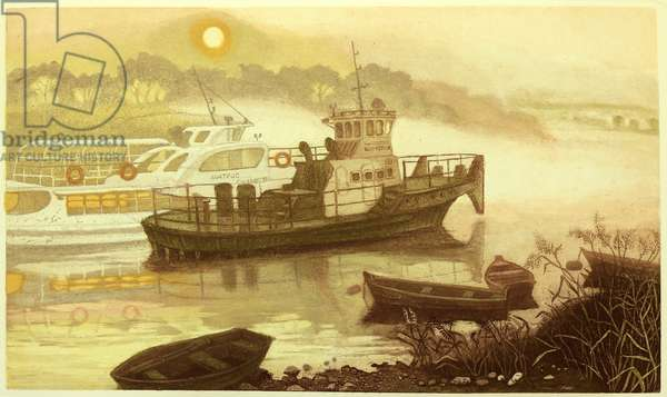 Morning Fog, 2009 (etching)