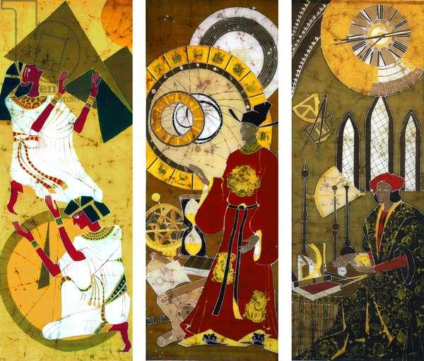 Time, 2008 (batik)