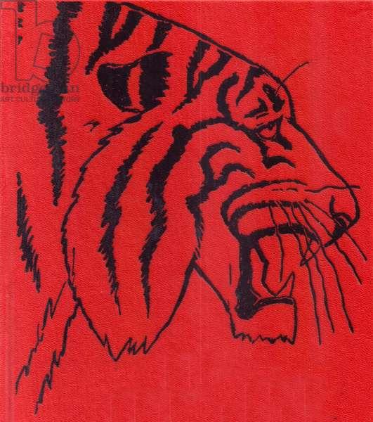 Tiger, 1982 (colour litho)