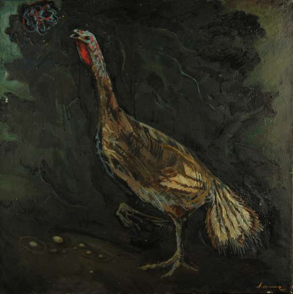Turkey, 1979 (oil on canvas)