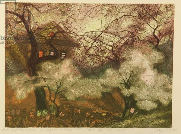 Spring, 2009 (colour etching on paper)