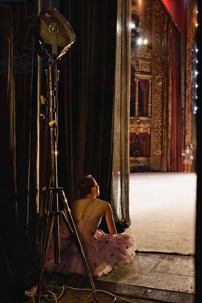 """Ten Days Before..."" (the Bolshoi Theatre series), Untitled #6438, 2005 (photo)"