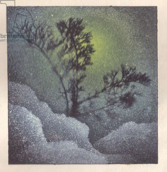 Winter Landscape, 1937 (litho)