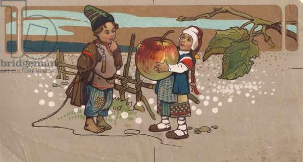 Fairytale, 1900s (colour litho)