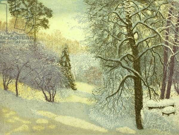 Winter, 2010 (etching)