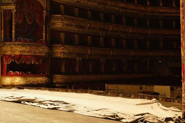 """Ten Days Before..."" (the Bolshoi Theatre series), Untitled #6240, 2005 (photo)"