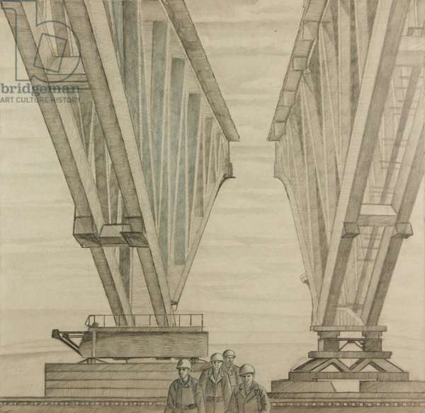 Metal Construction, 1965 (pencil on paper)