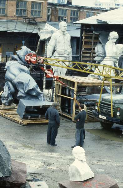The Sculptor's Backyard, 1989 (photo)