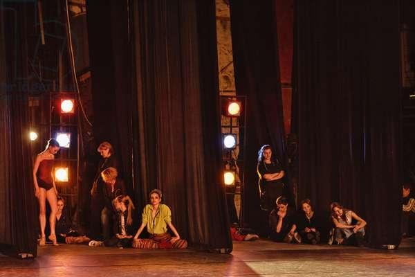 """Ten Days Before..."" (the Bolshoi Theatre series), Untitled #7542, 2005 (photo)"