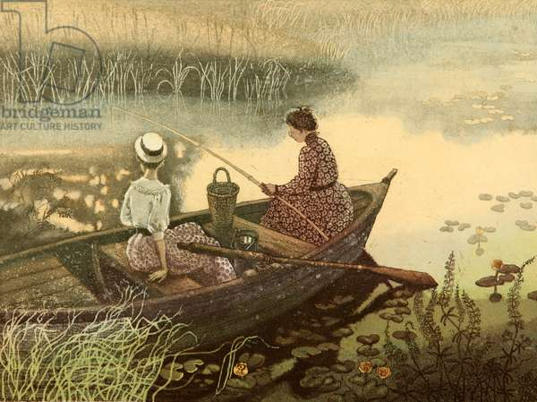 Morning on the River, 2015 (etching)