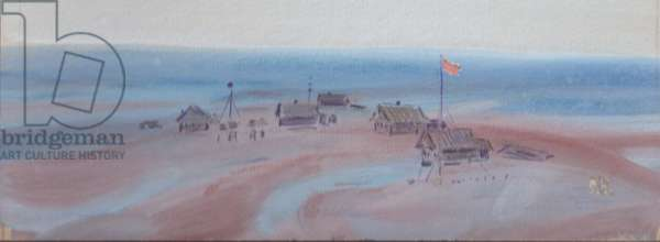 The Polar Camp, 1960s (gouache on paper)