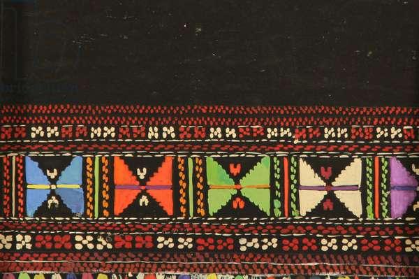 Textile Design, 1967 (tempera on paper)