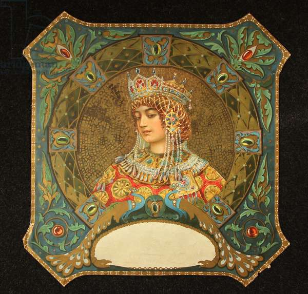 Perfume Label - Unknown Brand, 1900s (colour litho)