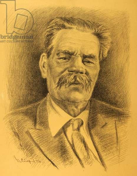 Maksim Gorky, 1946 (lithograph)