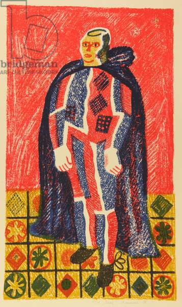 Clown, 1980 (lithograph)