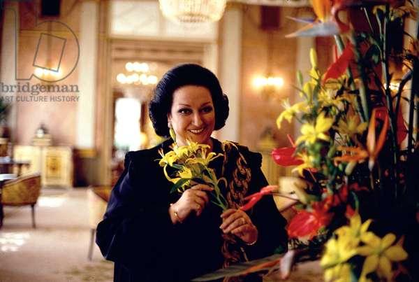 Montserrat Caballe (photo)