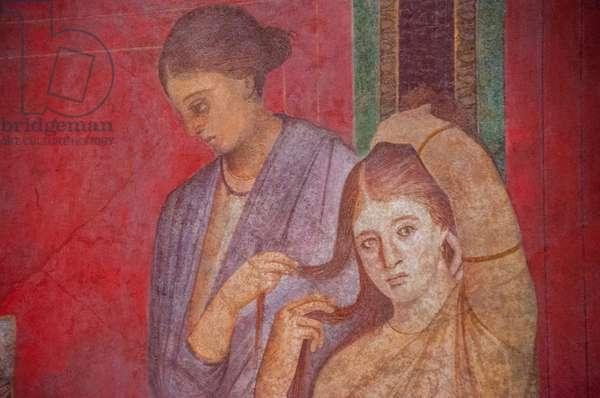 Europe, italy, campania, pompei, villa of the mysteries ©Lanzellotto Antonello/AGF/Leemage