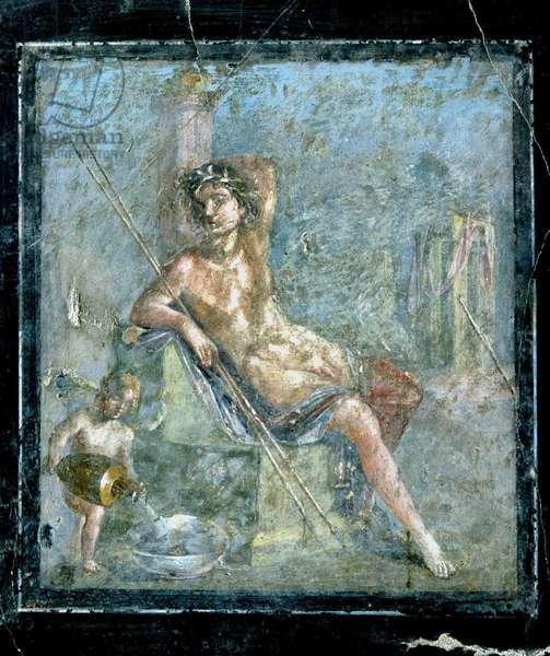 Fouilles de Pompei : villa de Fabio Rufo. Photo Frassineti ©AGF/Leemage