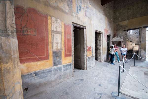 Europe, italy, campania, pompei, house of menander ©Lanzellotto Antonello/AGF/Leemage