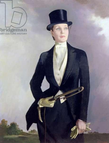 Doris Zinkeisen (oil on canvas)