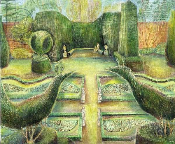 The Long Garden, Cliveden, birds