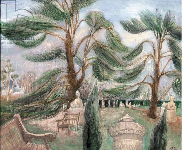 Chiswick House; cedarssphinxes