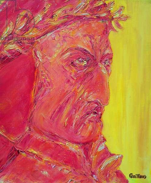 Dante (oil on canvas)